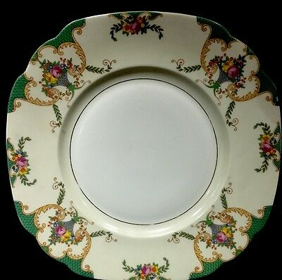 Vintage Made in Czecho-Slovakia Dinner Plate Porcelain, Unknown Maker