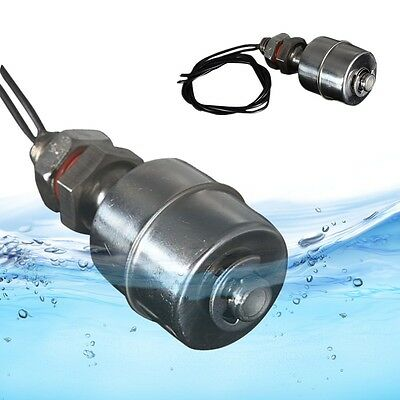 Mini Vertical Stainless Steel Liquid Water Level Sensor Horizontal Float Switch