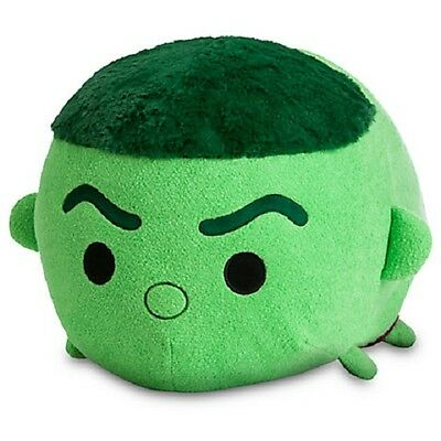 "Authentic US Disney Store Marvel Hulk Large 18"" Tsum Tsum Plush NWT!!"
