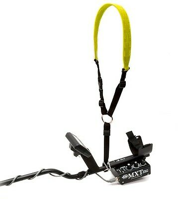 Metal Detector Shoulder Sling Yellow Optimum Comfort Garden Power Tool Accessory
