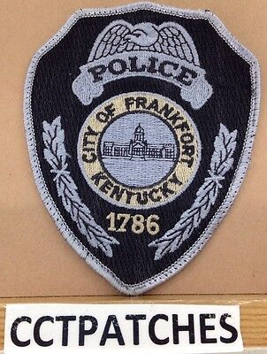 Frankfort, Kentucky Police Shoulder Patch Ky