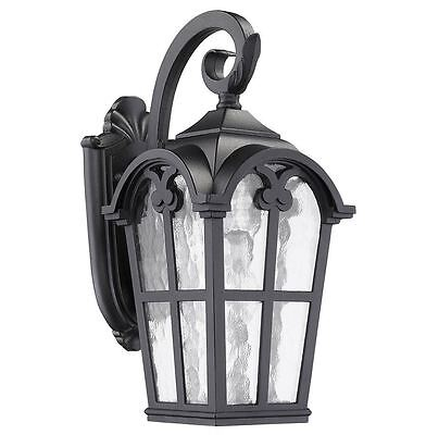 porch outdoor patio wall exterior lighting sconce light fixture lamp in black