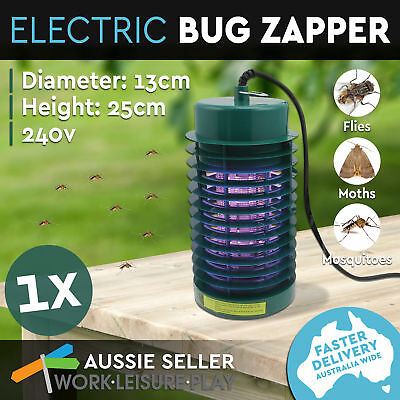 Electric Mosquito Zapper Bug Insect Killer Trap UV Lamp Tube Outdoor