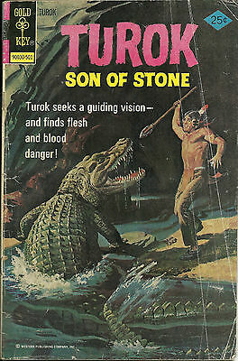 TUROK SON OF STONE  # 94   (Gold Key Comics 1975)  - VG+*