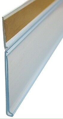 HINGED SCANSTRIP WITH BACK TAPE 460 X 39mm CLEAR Aust Made (pack of 50)