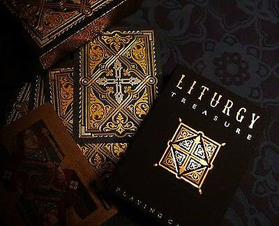 LITURGY Treasure Playing Cards by Lotrek - Limited, Rare, Double Foil, Only 130