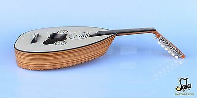 Turkish Professional Half Cut Electric Oud Ud String Instrument Aoh-370M