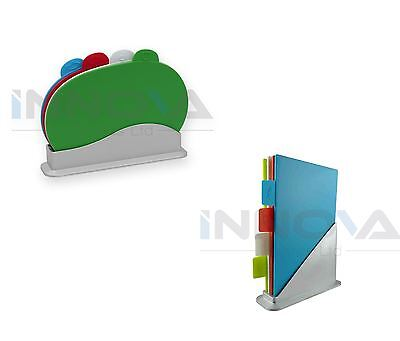 New Cutting Chopping Board Set With Holder Boards Fish Meat Vegetables Kosher