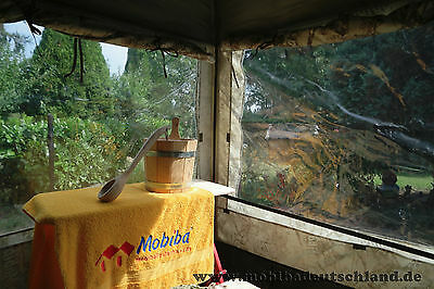 """Cover for Russian banya Mobiba MB 10 """"Aqua 2"""" (Firm) with two windows"""