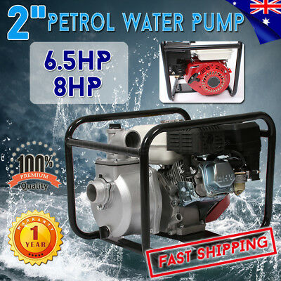 "5.5HP/8HP 2"" Petrol Water Transfer Pump High Pressure Fire Fighting Irrigation"