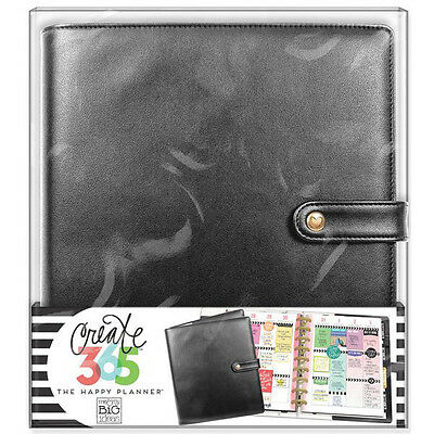NEW Classic Happy Planner Deluxe Cover Black