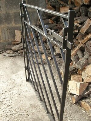 Very Heavy Wrought Iron Fully Adjustable Garden Gate