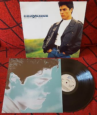 Latin Pop CHAYANNE **Tiempo De Vals** SPAIN UNIQUE COVER LP 1990 RARE w/INSERT!
