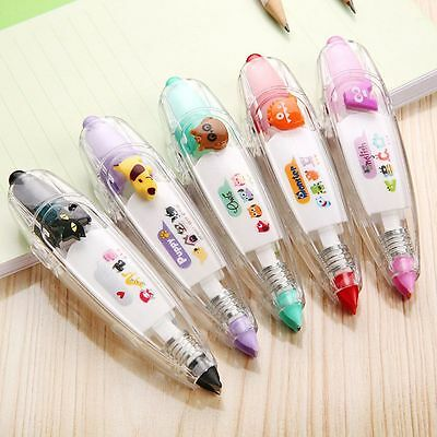 Push Stationery Students Correction Tape Lace Children Toys Key Tags Sign