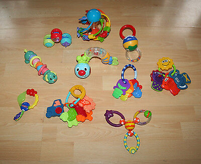 Bundle Of Branded Rattles / First Toys For A Baby Boy or Girl Age 0+