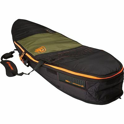 Creatures of Leisure Universal Travel Surfboard Bag Army Orange 6ft 7in
