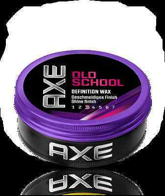 gel cheveux,cire coiffante AXE old school definition wax