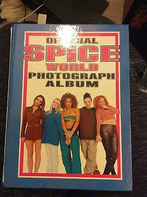 Official Spice World Photograph Album (incomplete)