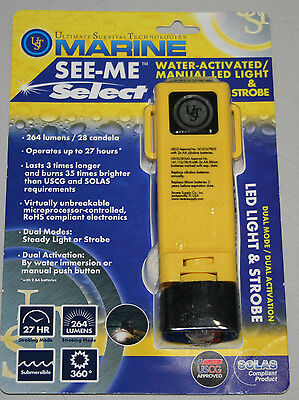 Ultimate Survival Technologies Marine See-Me Select Light And Strobe