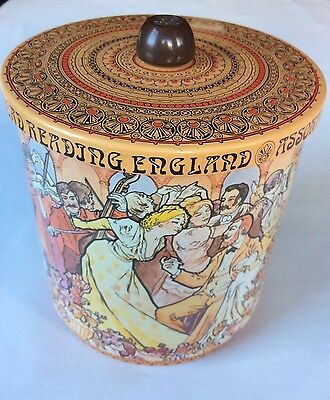 Huntley Palmers Biscuit Tin Barrel Spliff Mick Hill 1979 Vintage Rare