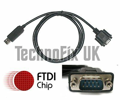 FTDI USB to serial RS232 adapter/converter, cable 1.2m long
