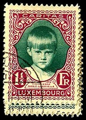 LUXEMBOURG B35-39  Used (ID # 47039)