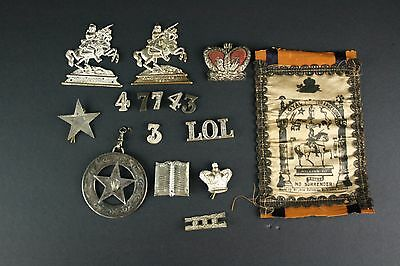 Masonic pins Patches lot old Vintage metals old Loose