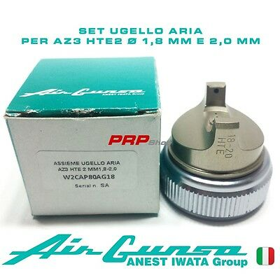 Set Ugello Aria Per Air Gunsa AZ3 HTE2 - Air Cap set 1.8 mm - 2.0 mm