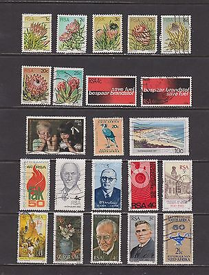 South Africa- Lot 1382, Used.