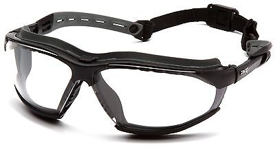 Pyramex Isotope Safety Eyewear Glasses, Foam Padding, Z87+ Protection, 4 Colours