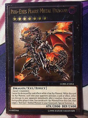 1x Red-Eyes Flare Metal Dragon Ghost 1st Edition CORE-EN054 Yu-Gi-Oh! NM