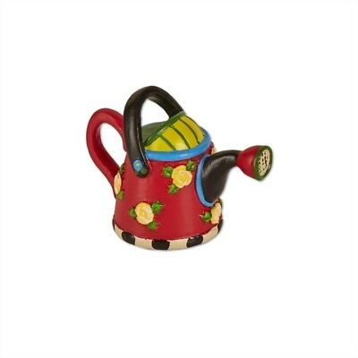 Mary Engelbreit Fairy Gardens Mini - Red Watering Can