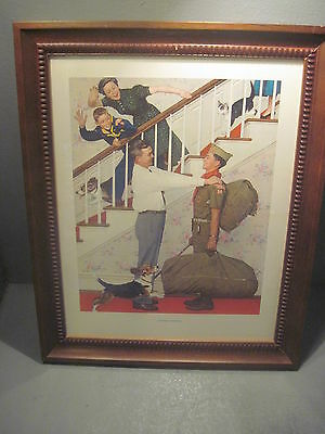 Boy Scout Framed  Print    Scout Homecoming 13 X 16