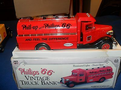 1993 Marx Toys Phillips 66 Vintage Truck Bank