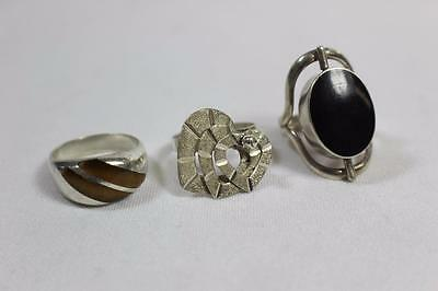 Lot of 3 Sterling Silver Rings #2