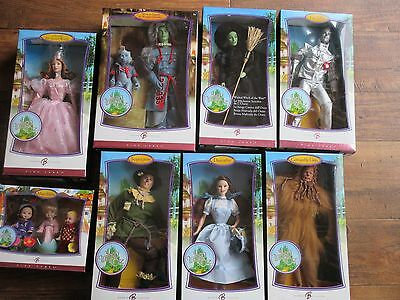 The Wizard of Oz Dorothy & friends lot 2007 Barbie Doll Pink label