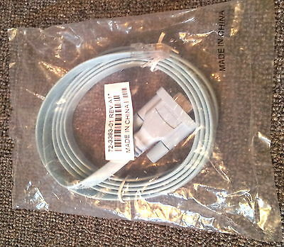 Genuine Cisco System Quality Console Cable DB9 to RJ45 6' #72-3383-01 NEW Sealed
