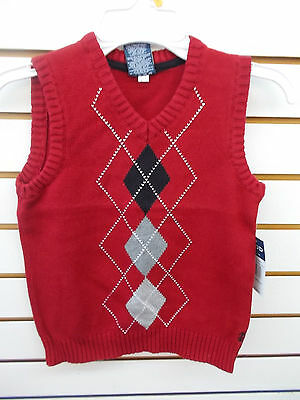 Boys IZOD $36 Rio Sweater Vest Size 4 - 7X