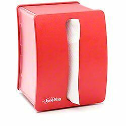 Georgia Pacific 54522 EZNap Napkin Dispenser, Commercial-Grade (Red)