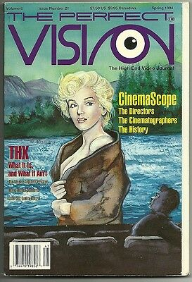 The PERFECT VISION magazine - Vol.6  #21 Spring 1994 (used VF)