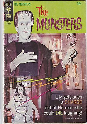 The MUNSTERS #14  (Gold Key 1967) - VG+ .