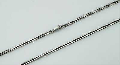 """28.5"""" Long 925 Solid Sterling Silver Diamond-Cut Curb Chain Necklace 2.8mm Width"""