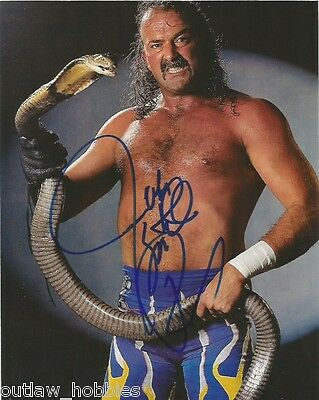 WWE Jake The Snake Roberts Autographed Signed 8x10 Photo COA