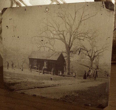 Small Billy the Kid Croquet Match Tintype $5 Million? tintype 343SP