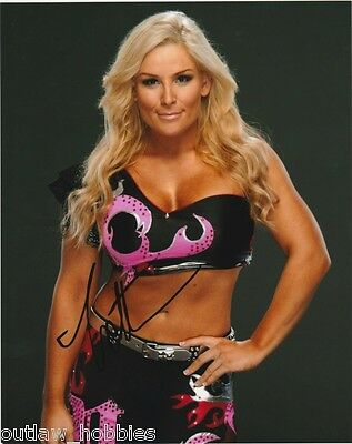 WWE Natalya Neidhart Autographed Signed 8x10 Photo COA