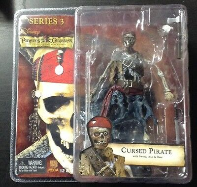 Pirates Of The Caribbean The Curse Of The Black Pearl Cursed Pirate Figure