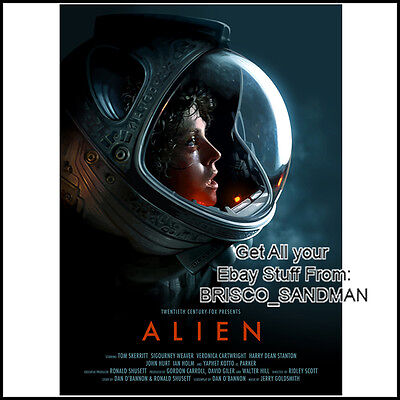 Fridge Fun Refrigerator Magnet ALIEN MOVIE POSTER -Version B- horror Sci-Fi