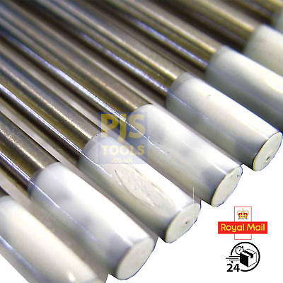 0.8% zirconiated white tig tungsten electrodes packs of 10 All sizes 1.0 - 4.8mm