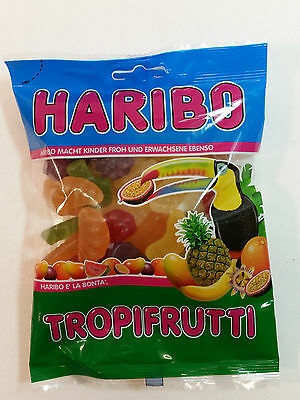 HARIBO TROPIFRUTTI - CANDY WINE GUMS 7oz - 200g - MADE IN GERMANY -