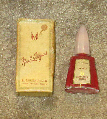 Vintage Elizabeth Arden Nail Lacquer - Nail Polish in box # 4316